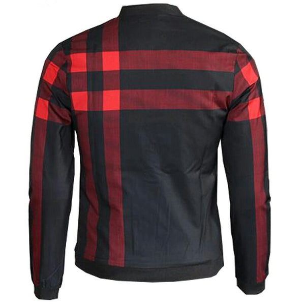 Autumn Plaid Windbreaker Jacket 2 colors