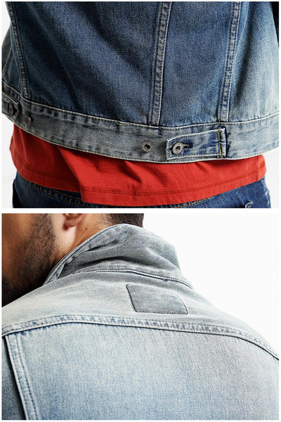 Vintage Denim Jacket for Men