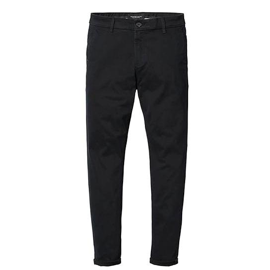 Dark Grey Pencil Trousers