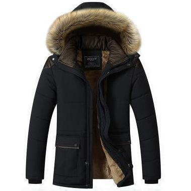 Warm Padded Casual Parka