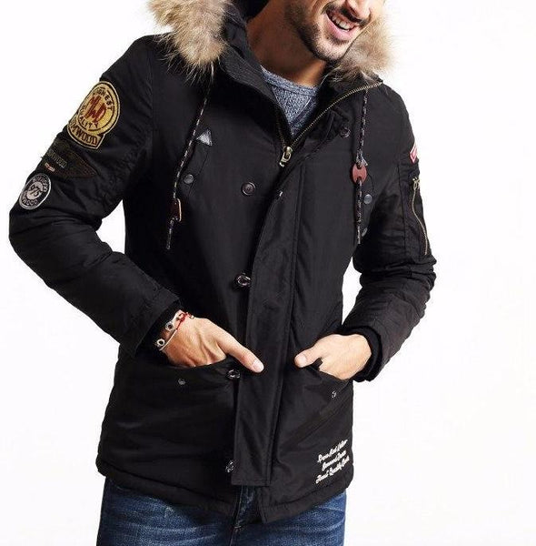 Fur Hood Fall Jacket
