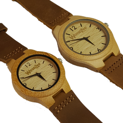 bamboo watch - woodzee za - wooden watch - couples watch