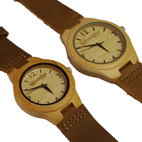 For Us - Bamboo Couples Watch - WoodZee ZA - Bamboo Watch