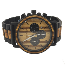 Time Watcher - WoodZee ZA - Zebra Stripe