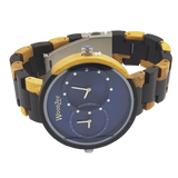 Blue Trooper - WoodZee ZA - Ebony Watch