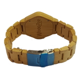The Force - Bamboo Watch With Wooden Links - WoodZee ZA - Bamboo Watch