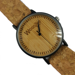 The Wild - Wooden Watch With Cork Strap - WoodZee ZA - Wooden Watch