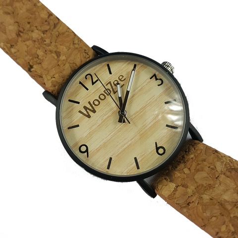 Corkage - Wooden Watch With Cork Strap - WoodZee ZA - Wooden Watch