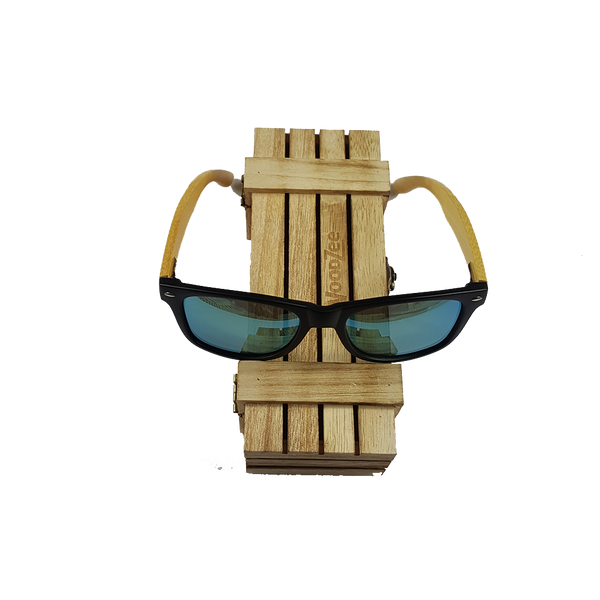 Bamboo Sunglasses Green - Wooden Bamboo Sunglasses - WoodZee ZA - Bamboo Sunglasses
