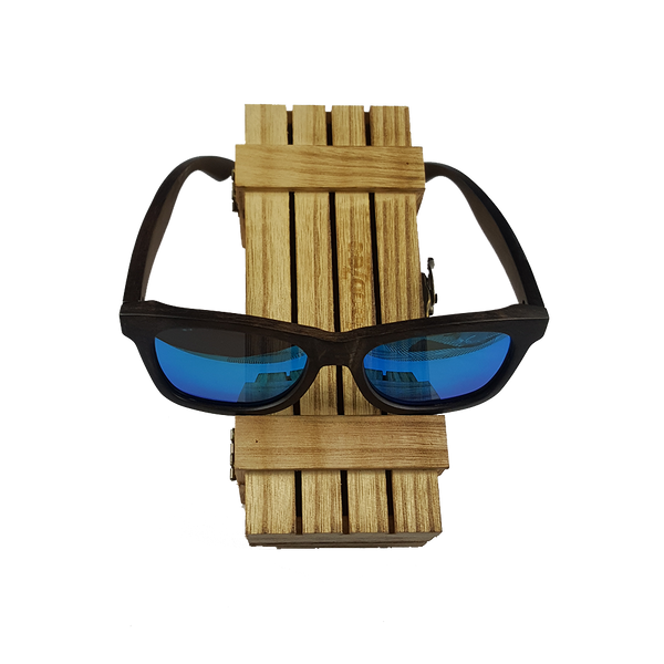 Ebony Sunglasses - Wooden Ebony Sunglasses With Polarized Lenses - WoodZee ZA - Ebony Sunglasses