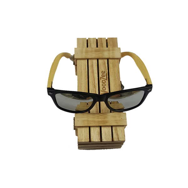 Bamboo Sunglasses Silver - Wooden Bamboo Sunglasses - WoodZee ZA - Bamboo Sunglasses