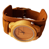 Bad Boy - Wooden Maple Watch With Leather Strap - WoodZee ZA - Maple Watch