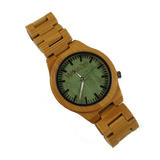 Hulk - Wooden Bamboo Watch With Wood Links - WoodZee ZA - Bamboo Watch