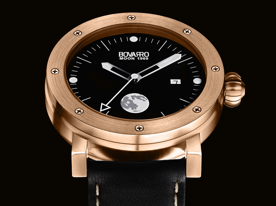 Bovarro Moon 1969 Lunar 1 Rose Gold