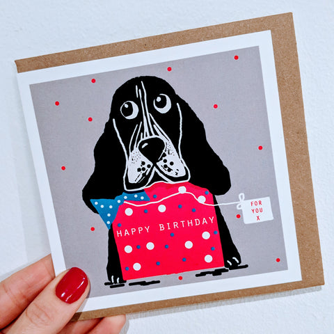 Happy Birthday Bassett Card