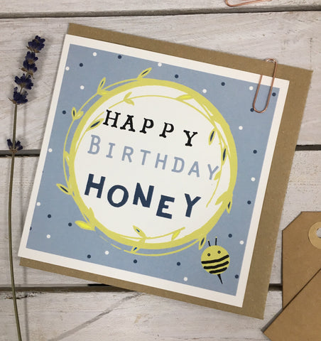 Happy Birthday Honey Card