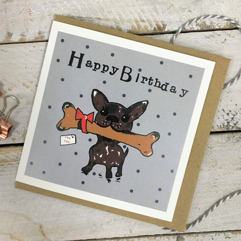Happy Birthday Chihuahua Card