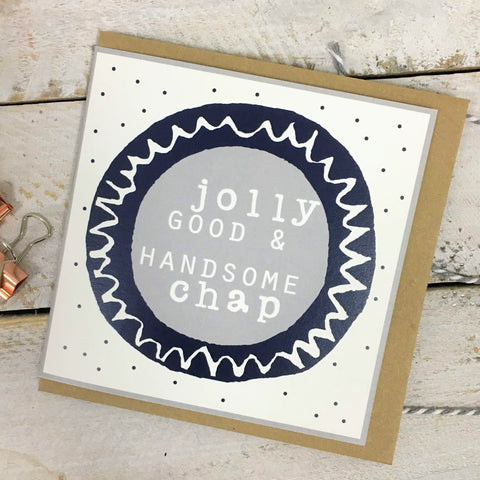 Jolly Good Chap card