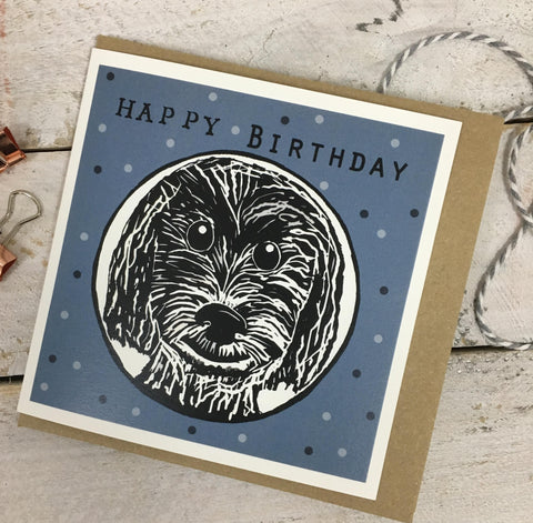 Happy Birthday Cockapoo Card