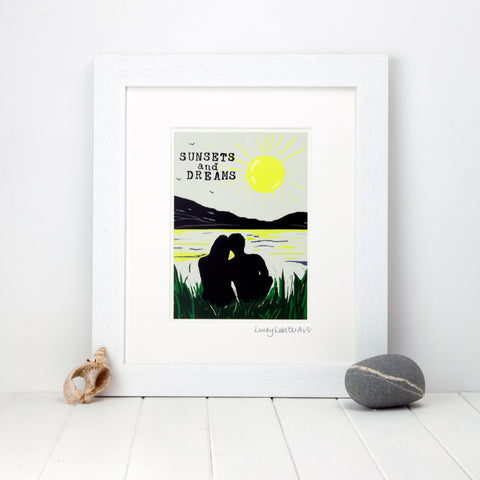Sunsets & Dreams Print