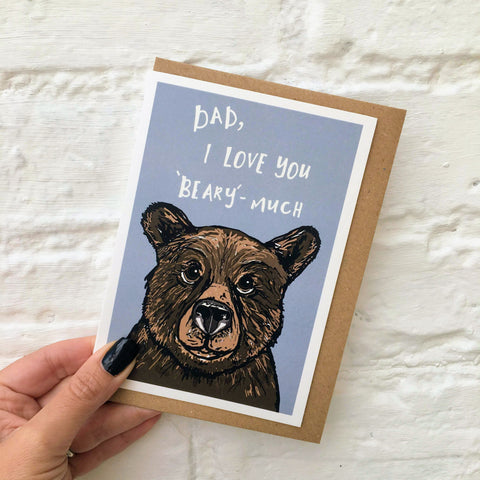 Dad, I love you Card