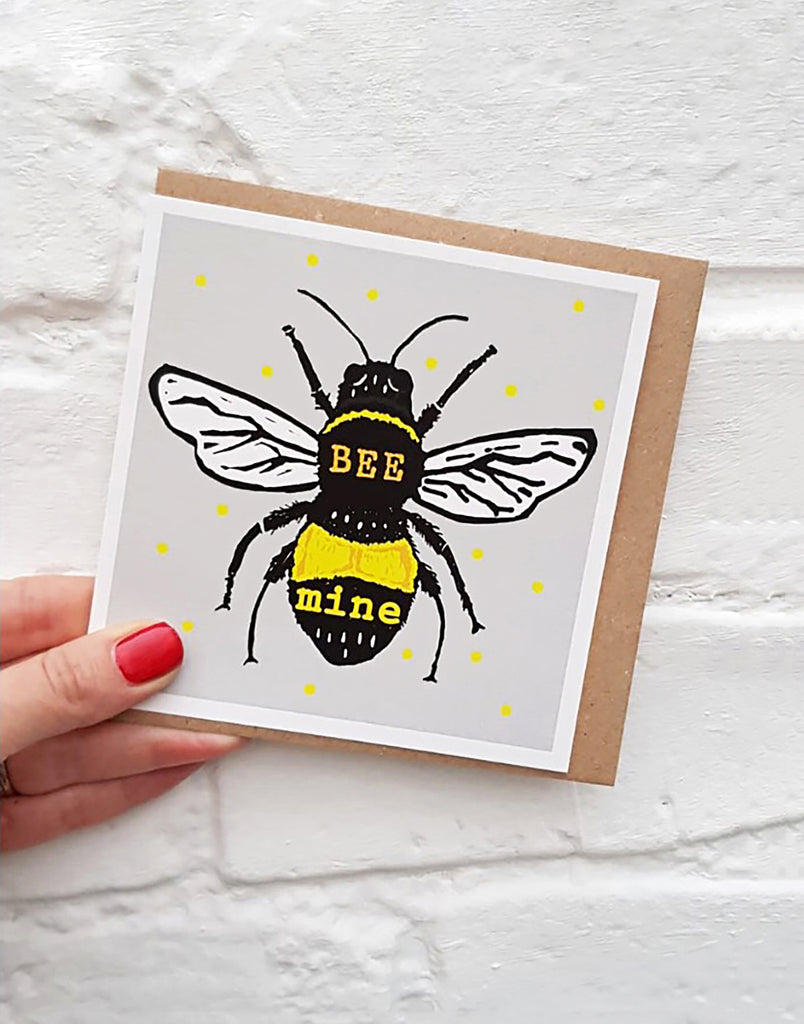Bee Mine Valentine's Card