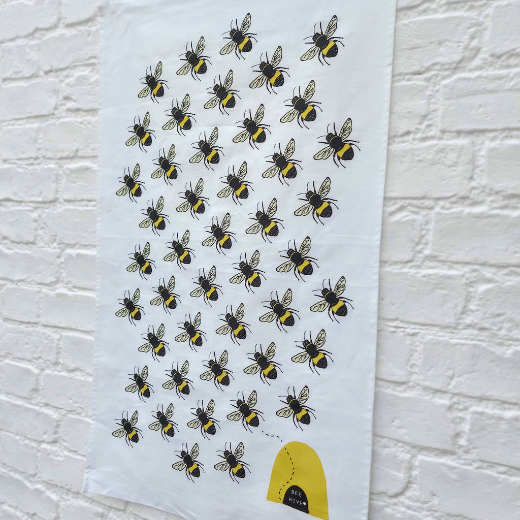 Bee Hive Tea towel