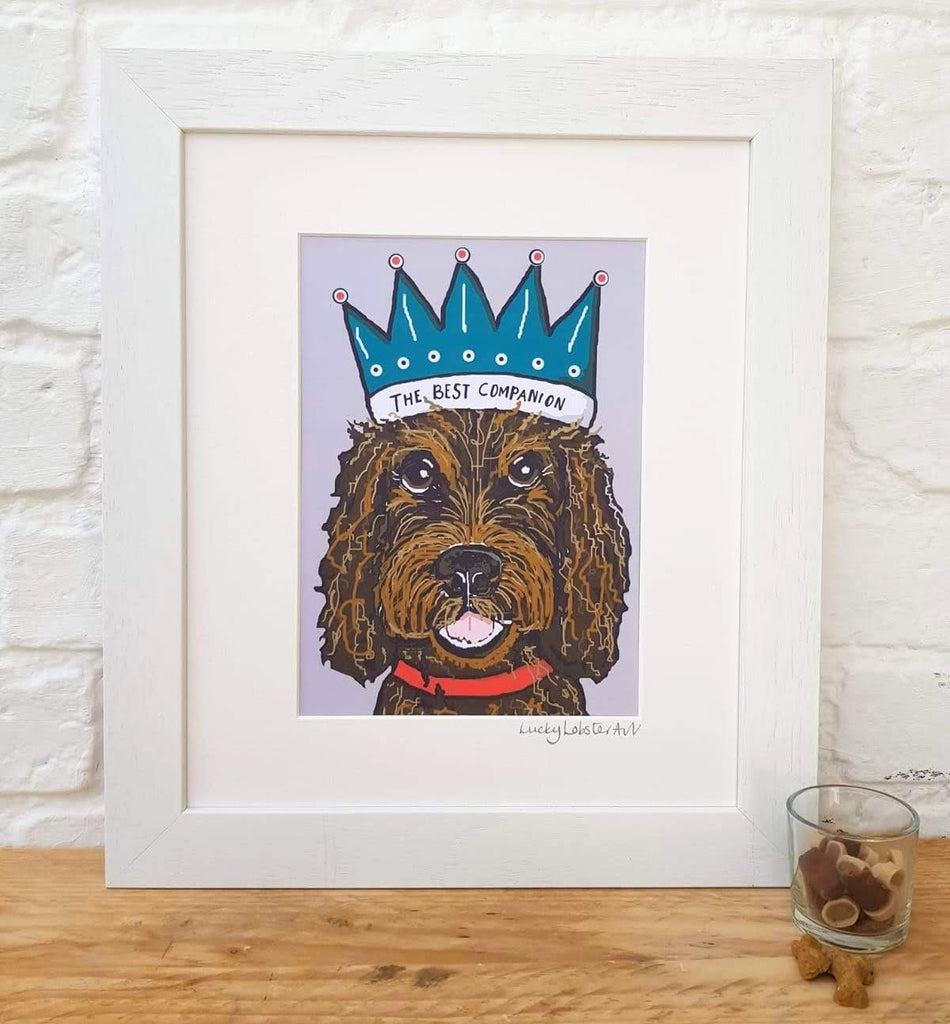 Cockapoo 'The Best Companion' Print