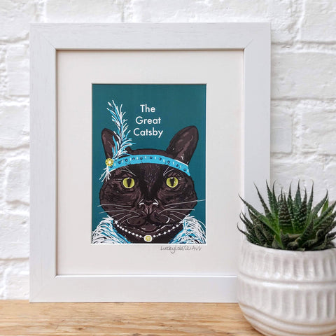 The Great Catsby Print