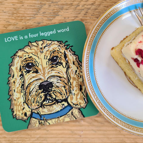 Cockapoo Coaster (Blonde)