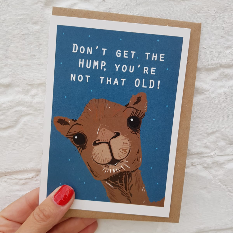 Camel Hump birthday card
