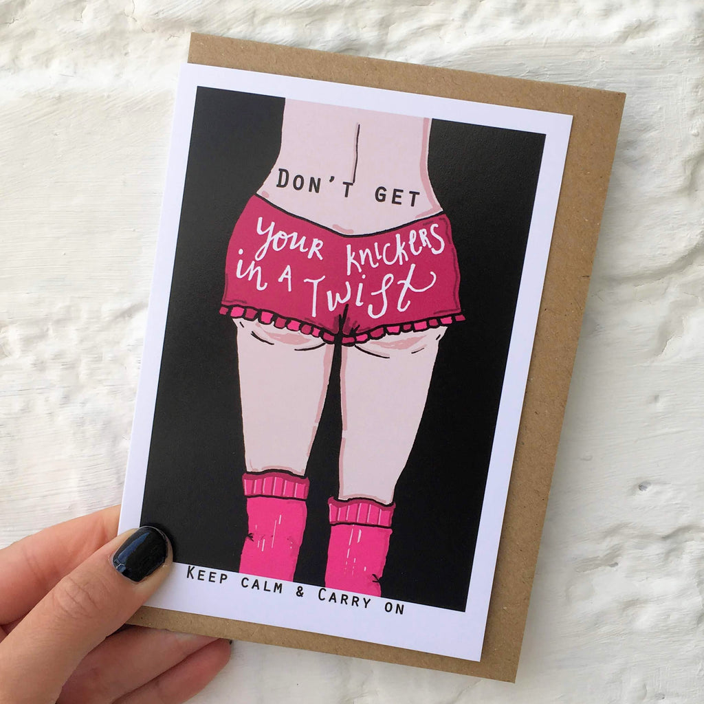 Knickers Card