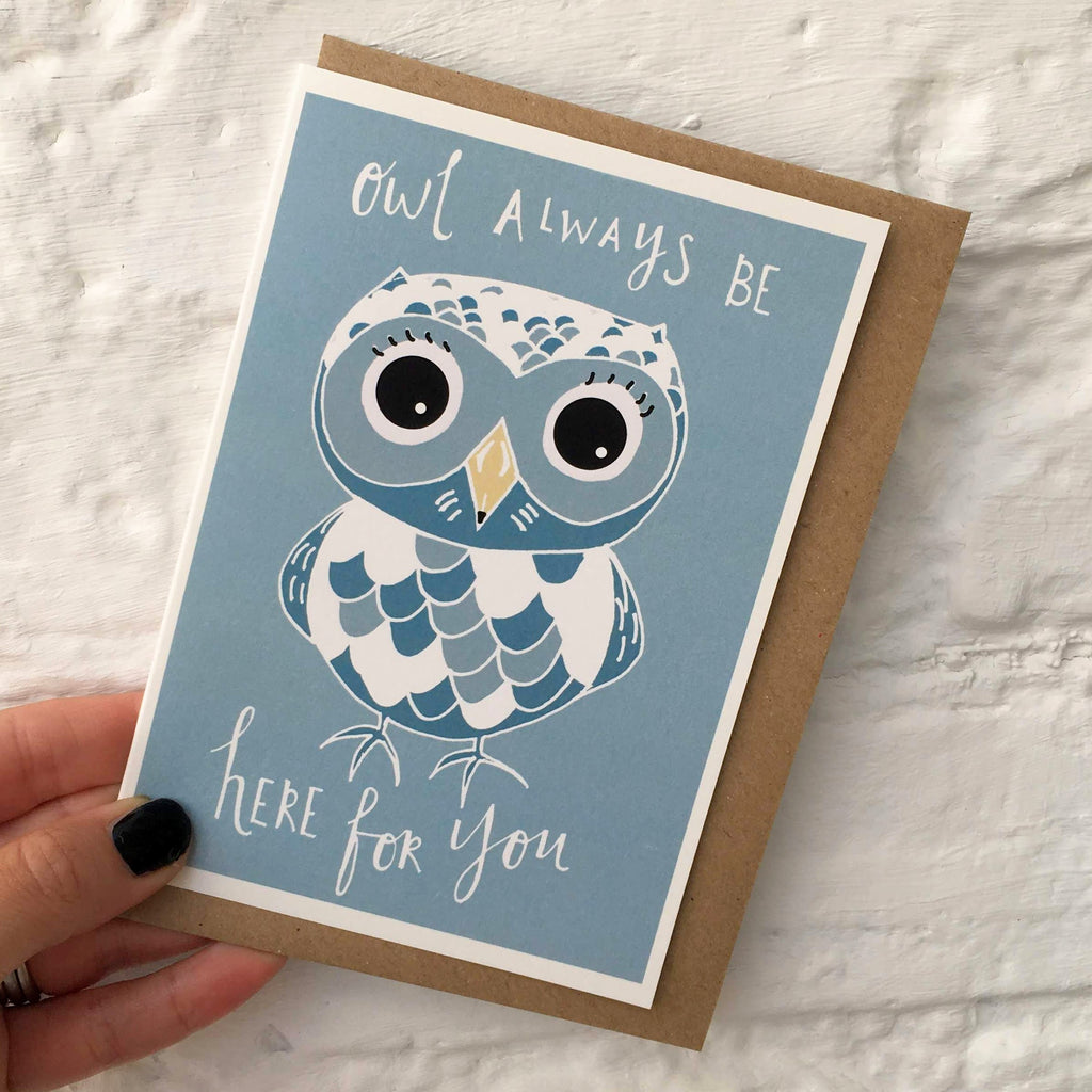 Owl Be There card