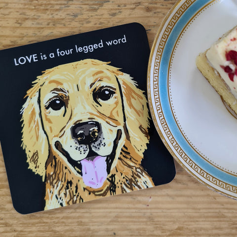 Golden Retriever Coaster