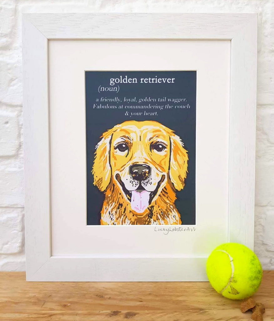 Golden Retriever 'Dictionary Dogs'