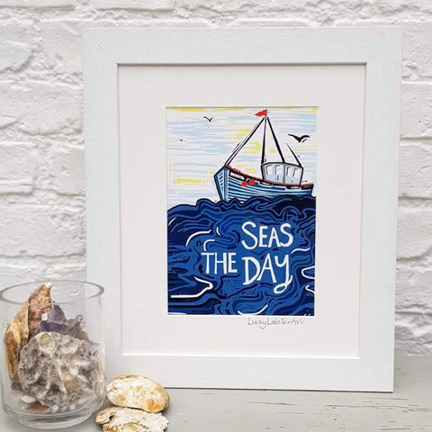 Seas The Day Print