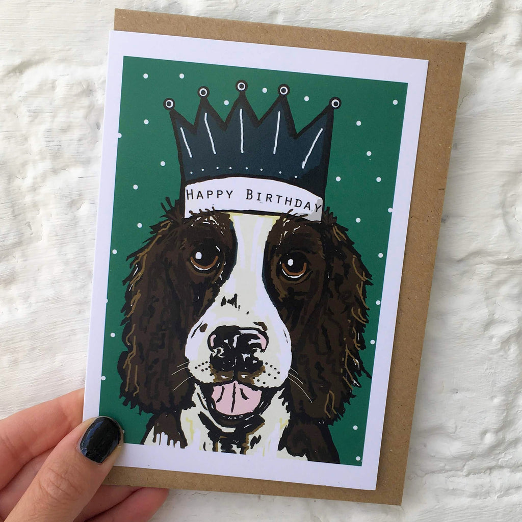 Spaniel Birthday Card