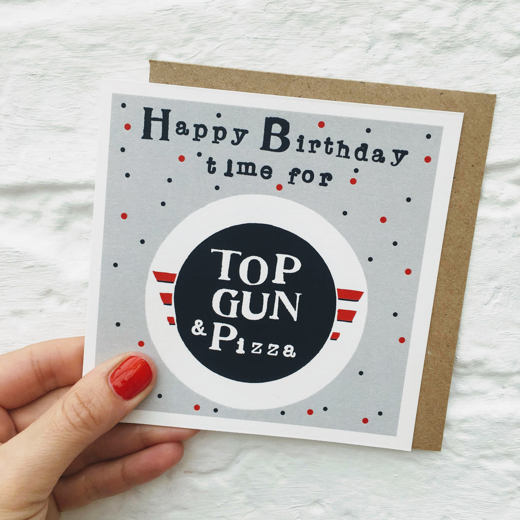 Top Gun Birthday card