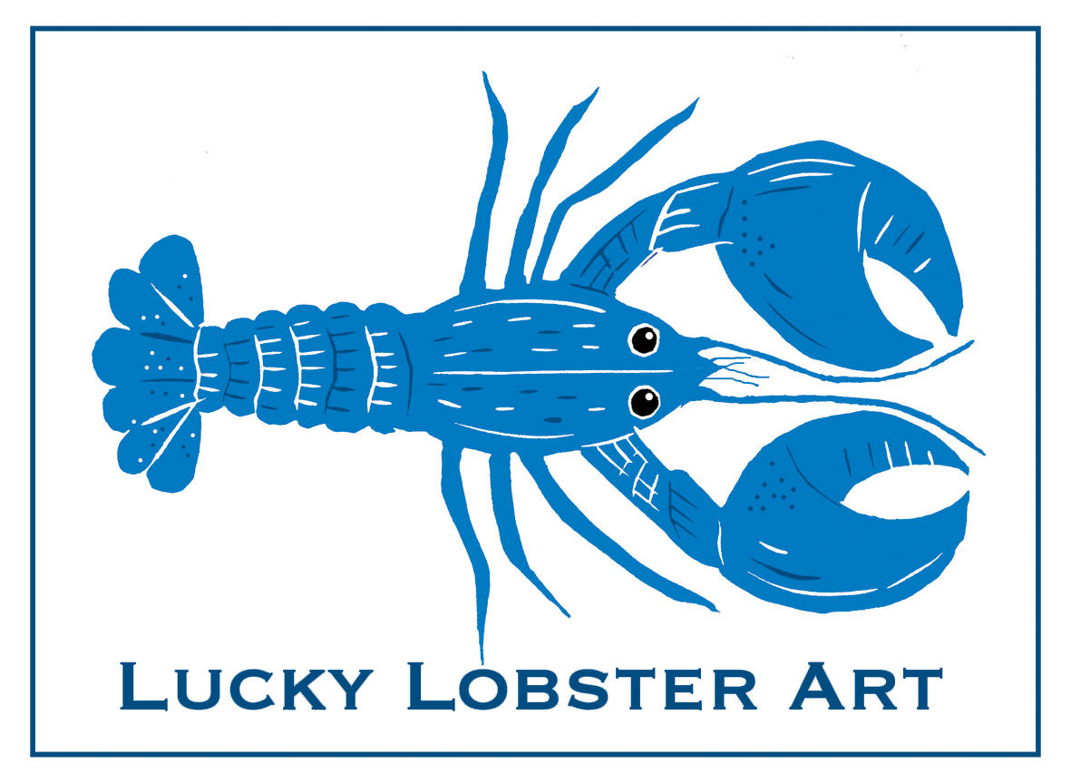 Lucky Lobster Art