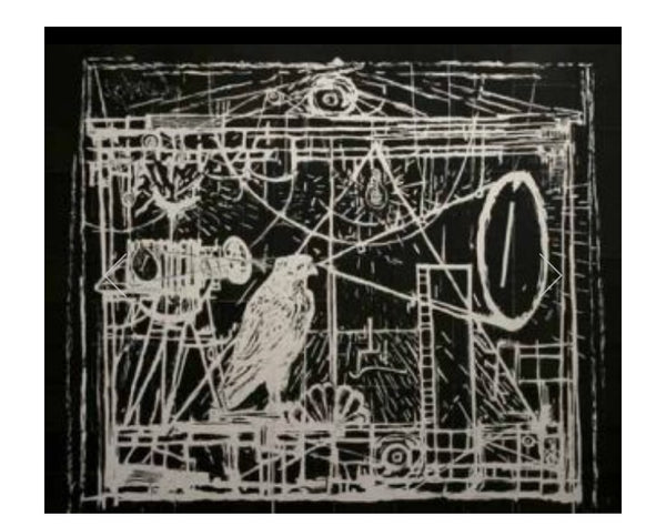 William Kentridge - Learning the flute