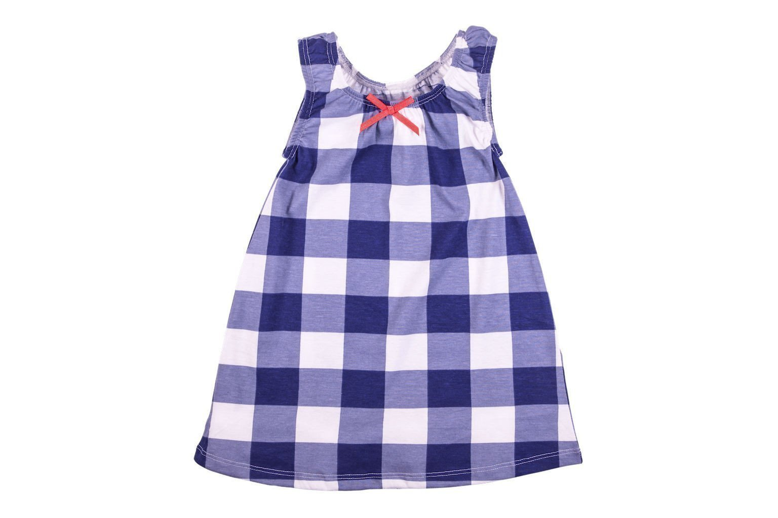 Blue Plaid Dress - HUGABUG