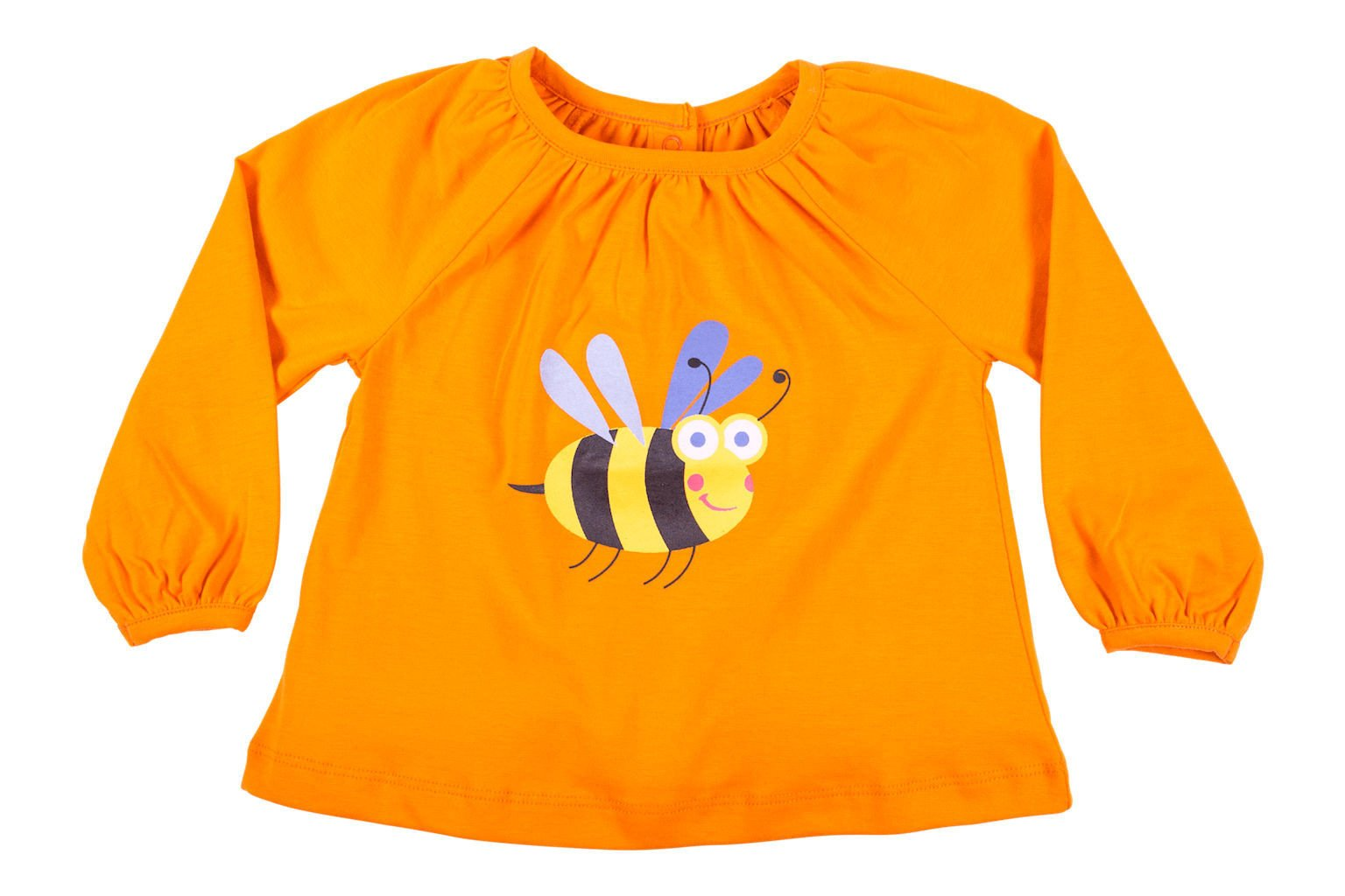 Orange Bumblebee Top - HUGABUG