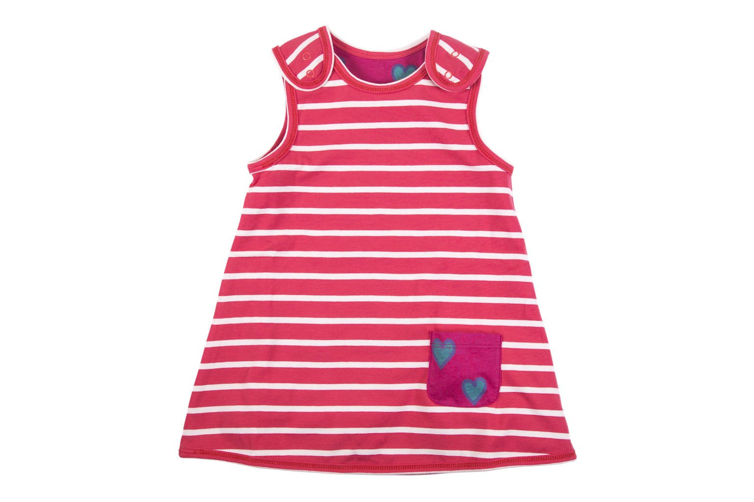 Pink Reversible Dress - HUGABUG