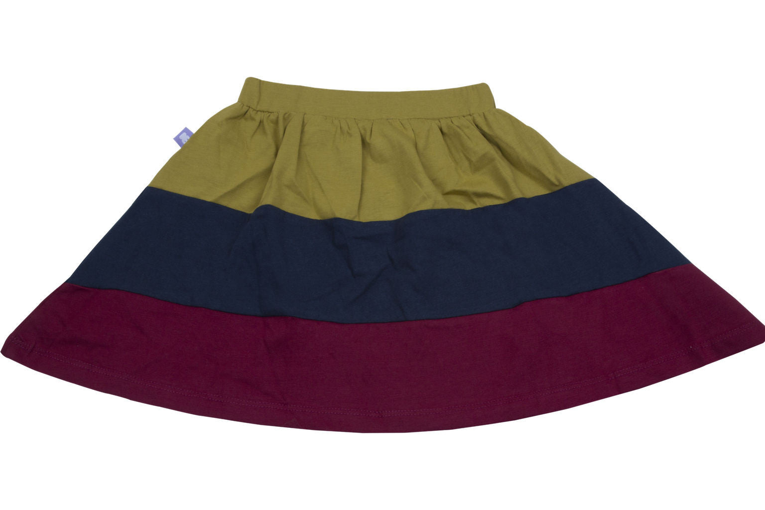 Tri Color Skirt in Organic Cotton - HUGABUG