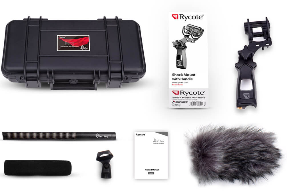 Add-on Kit with Professional Shock Mount