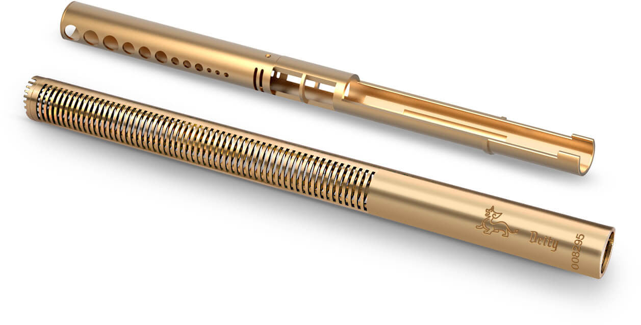 All-Brass Body with Rugged Coating