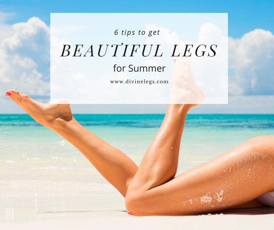 Six Tips to Get Beautiful Legs For Summer