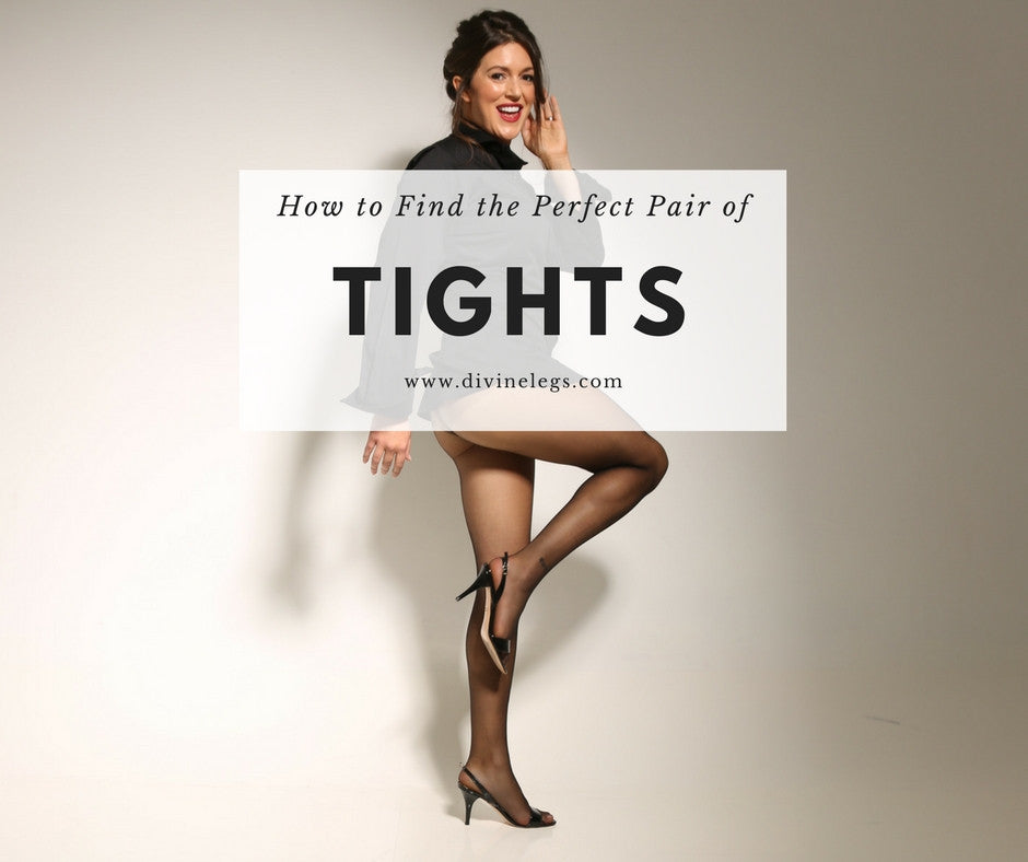 How To Find The Perfect Pair Of Tights