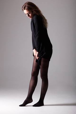 Anti cellulite tights - 50D opaque tights