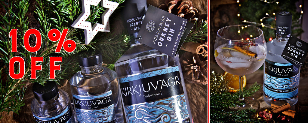 Christmas Gifts from Orkney Distilling - 10% off online orders